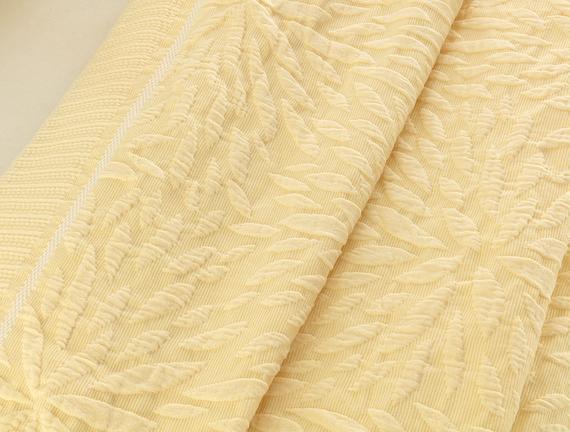 Jacinthe Tek Kişilik Yatak Örtüsü - Sarı