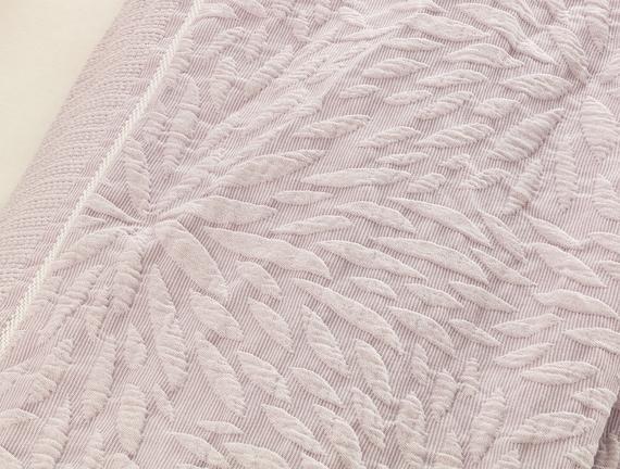 Jacinthe Tek Kişilik Yatak Örtüsü - Mor