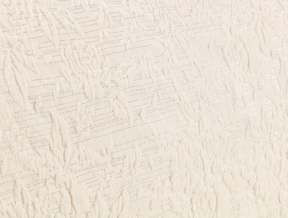 Florent Tek Kişilik Yatak Örtüsü - Beyaz