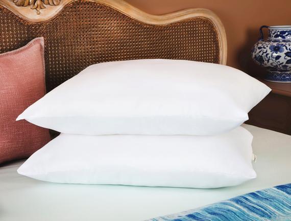 Arles 2'li Micro Yastık - Beyaz