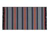 Orlena Saçaklı Dokuma Kilim - Lacivert  / Kiremit - 120x180 cm
