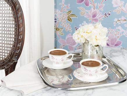 Cerise 2'li Kahve Fincan Takımı