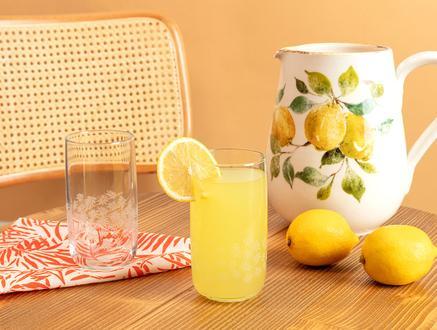 Musette White Leaves 4'lü Meşrubat Bardağı Seti - 365 ml