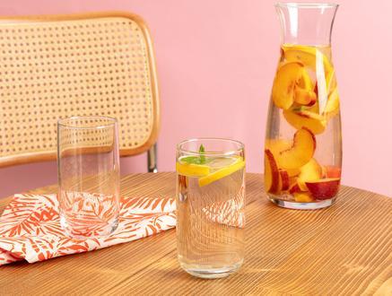 Musette Golden Rain 4'lü Meşrubat Bardağı Seti - 365 ml