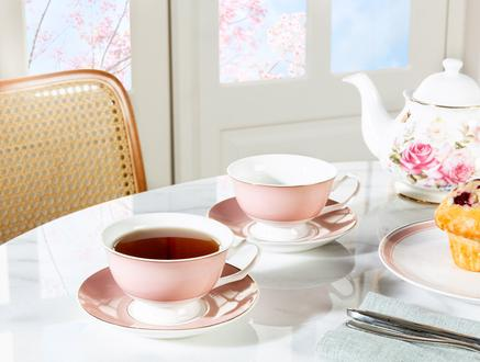 Briellen 2'li Çay Fincan Takımı