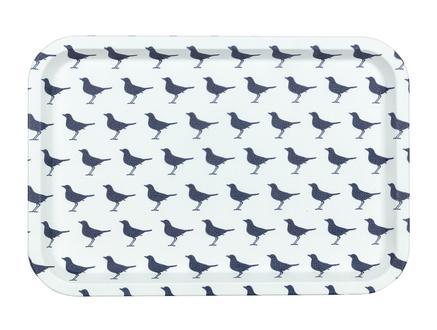 Rêve Bleu Oiseau Dikdörtgen Kaydırmaz Tepsi 31x21 cm