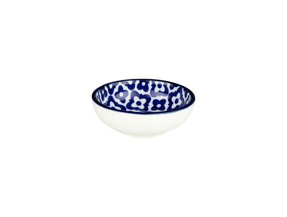 Rêve Bleu Tuyau  Mini Tabak - Mavi / Beyaz
