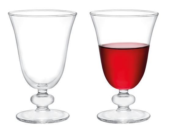 Valerio 4'lü Kırmızı Şarap Kadehi Seti 280 ml