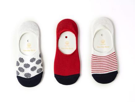 Desarae Kadın 3'lü Babet Çorap