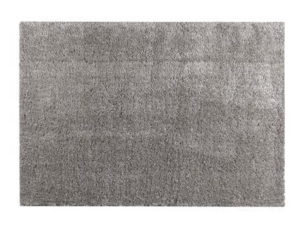 Remy Peluş Halı - Gri - 80x150 cm