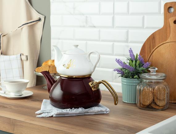 Papillon Çaydanlık - Mürdüm