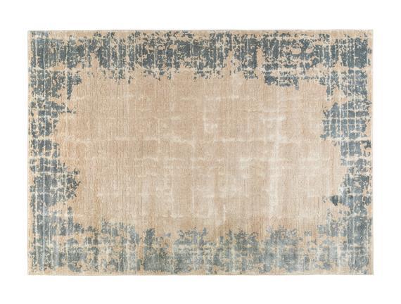 Carmeline Halı - Bej / İndigo - 80x150 cm
