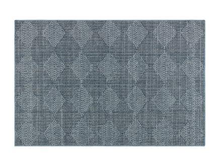 Lacene Halı - Mavi/Beyaz - 190X290 cm