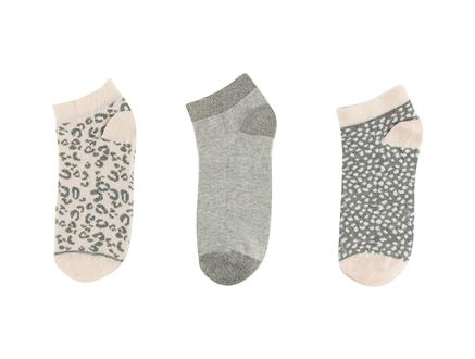 Amata Kadın 3'lü Patik Çorap