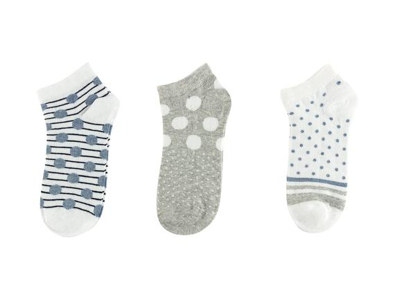 Syefania Kadın 3'lü Patik Çorap