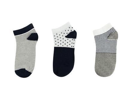 Vafara Kadın 3'lü Patik Çorap