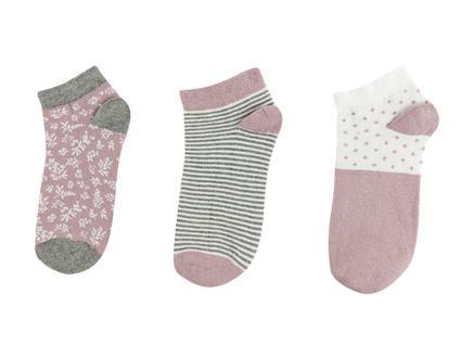 Slainie Kadın 3'lü Patik Çorap