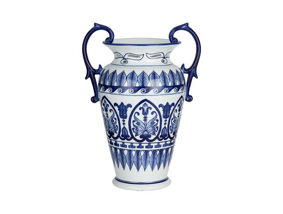 Béziers Bleu Blanc Dekoratif Obje