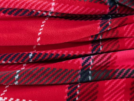 Antonin Welsoft Tek Kişilik Baskılı Battaniye - Kırmızı