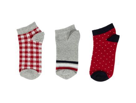 Anne Kadın 3'lü Patik Çorap