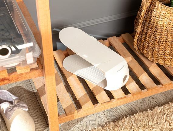 Ives Layer Ayakkabı Rampası - Soft Ekru - 10,5X26,3X15CM