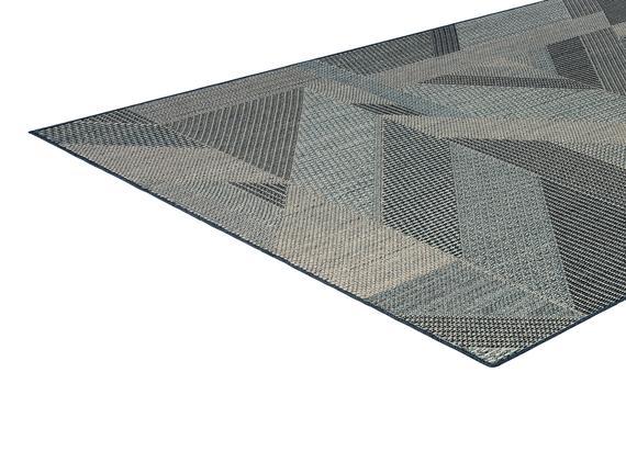 Fabien Halı - Mavi/Beyaz 150x230 cm