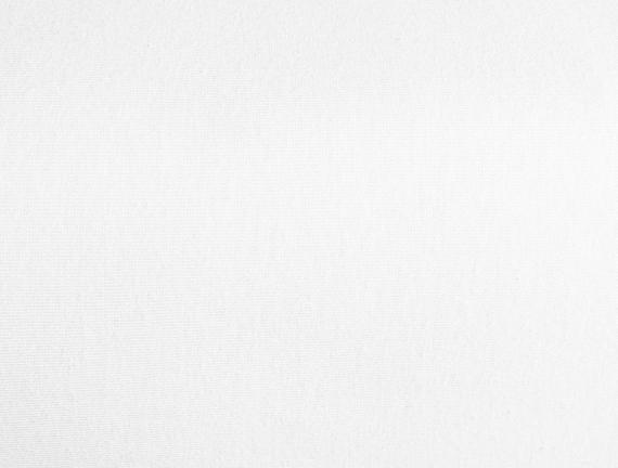 Angers Tek Kişilik Lastikli Penye Çarşaf - Beyaz