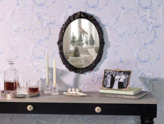 Romaine Ayna - Lacivert - 38x50 cm