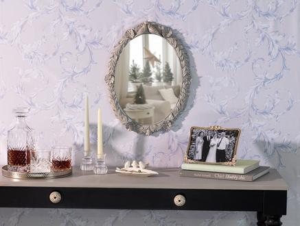 Romaine Ayna - Gri - 38x50 cm