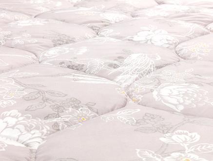 Karla Tek Kişilik Micro Yorgan - Açık Mürdüm
