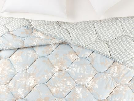 Curtice Çift Kişilik Micro Yorgan - Mavi