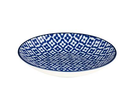 Rêve Bleu Venteux Yemek Tabağı - Mavi - 22 cm
