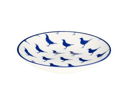Rêve Bleu Sérénité Yemek Tabağı - Mavi - 22 cm