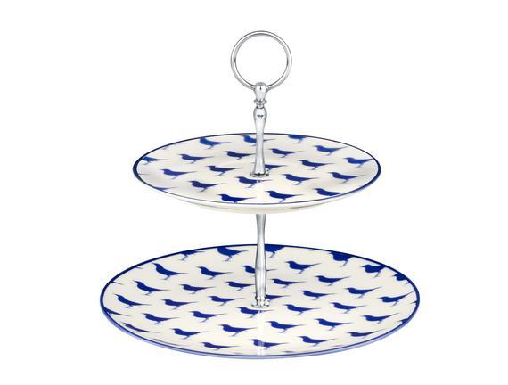 Rêve Bleu Sérénité 2 Katlı Kek Standı - Mavi