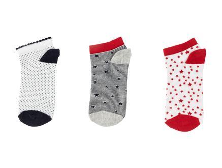 Amite Kadın 3'lü Patik Çorap