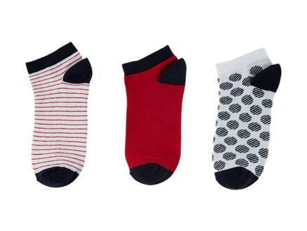 Desarae Kadın 3'lü Patik Çorap