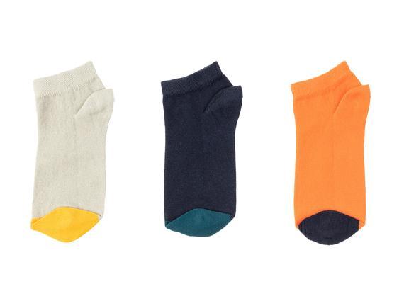 Francena Kadın 3'lü Patik Çorap - Lacivert