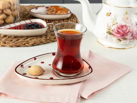 Vie Rouge Sauvage Çay Tabağı - 15 cm
