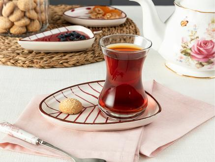 Vie Rouge Tuyau Çay Tabağı - 15 cm