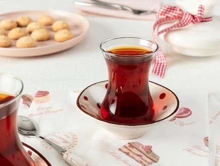 Vie Rouge Sauvage Çay Tabağı - 10 cm