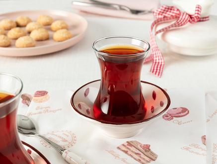 Vie Rouge Graine Çay Tabağı - 10 cm