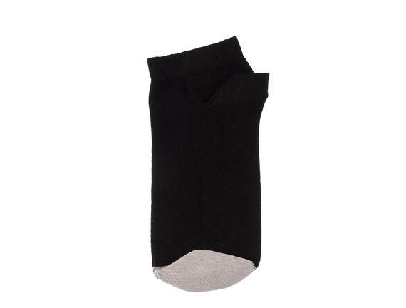 Francena Kadın 3'lü Patik Çorap - Siyah