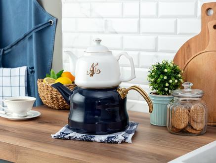 Giroud Çaydanlık - Lacivert