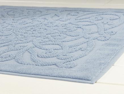 Berthe Ayak Havlusu - Mavi - 50x80 cm